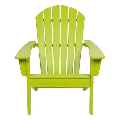 Seaside Lime Green Adirondack Chair