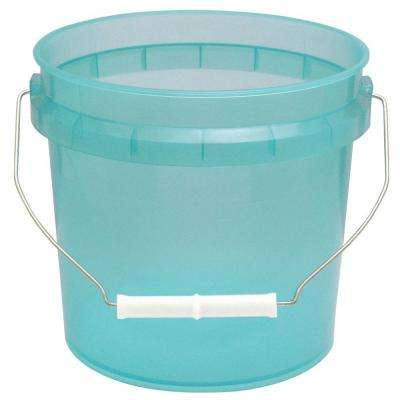 1-gal. Green Translucent Pail (12-Pack)