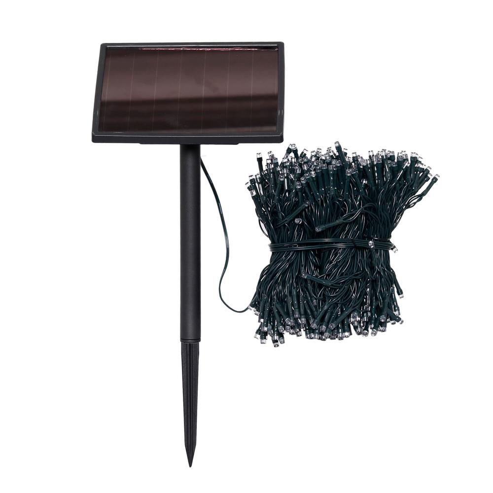 Patio String Lights Home Depot: Westinghouse 400-Light 134 Ft. Solar Powered Integrated