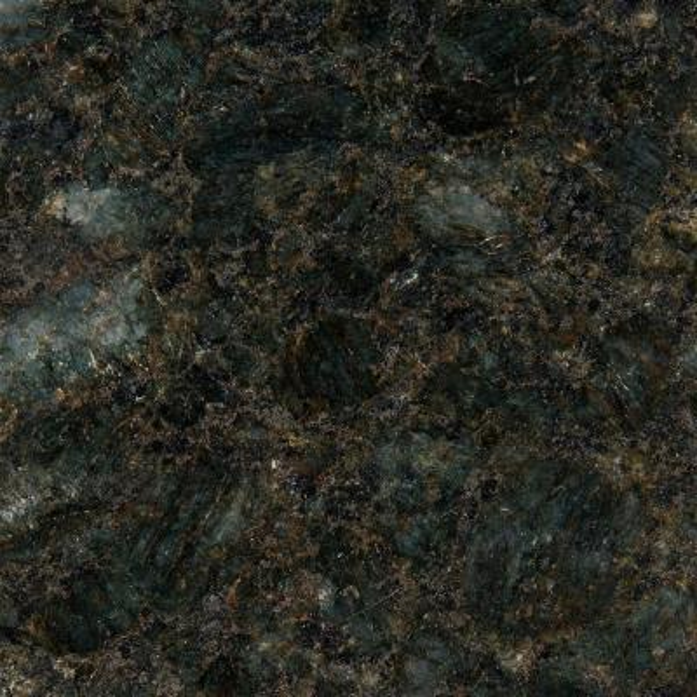 3 in. x 3 in. Granite Countertop Sample in Peacock Green