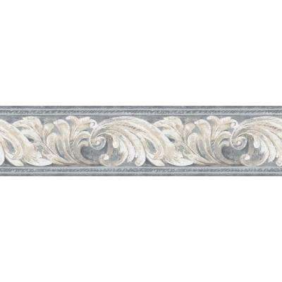 Inspired By Color Architectural Wallpaper Border