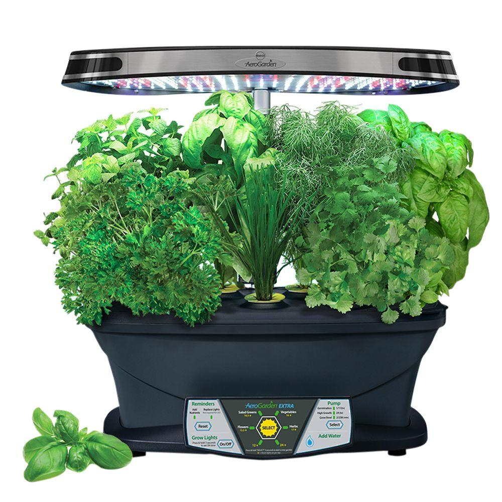 Miracle Gro Aerogarden Extra With Gourmet Herb Seed Pod Kit
