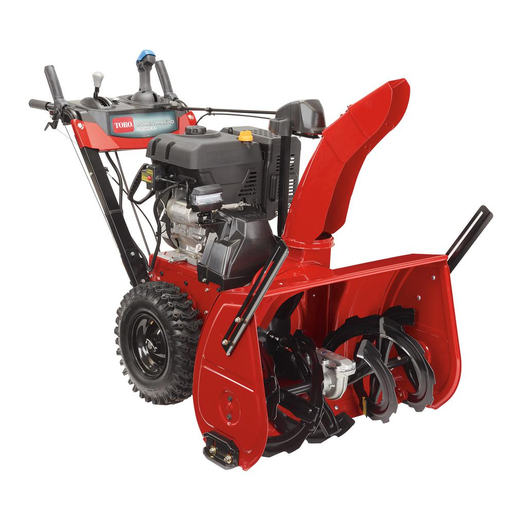 28 in. 420 cc Two-Stage Electric Start Gas Snow Blower