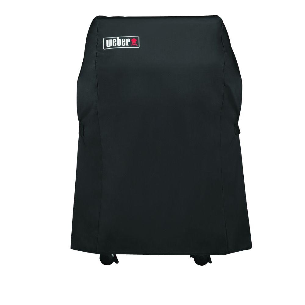 weber spirit 210 grill cover 7105 the home depot. Black Bedroom Furniture Sets. Home Design Ideas
