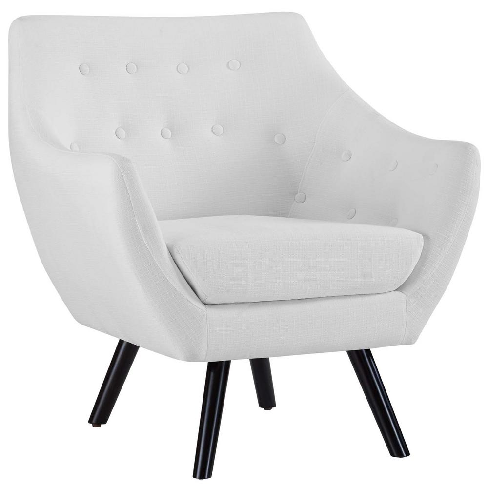 White Allegory Arm Chair
