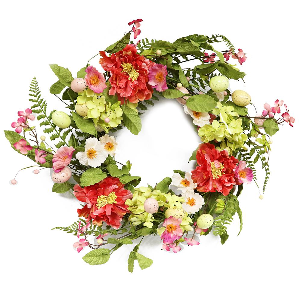 20 In Easter Wreath 303 Dw8256 20 The Home Depot