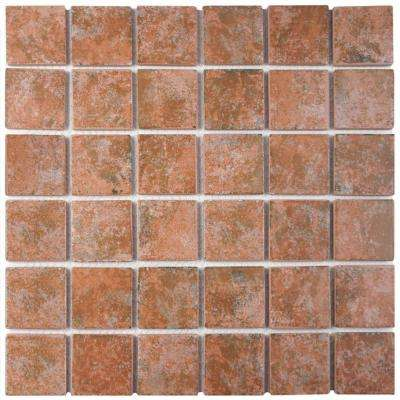 Colorado Quad Pueblo 12-1/2 in. x 12-1/2 in. x 5 mm Porcelain Mosaic Tile