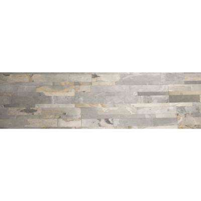 Harappa Gold Ultra Thin 6 in. x 24 in. Natural Stone Panel Siding (10-Pack)