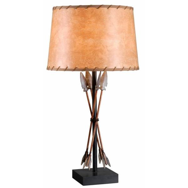 Bound Arrow 30 in. H Antique Wash Table Lamp