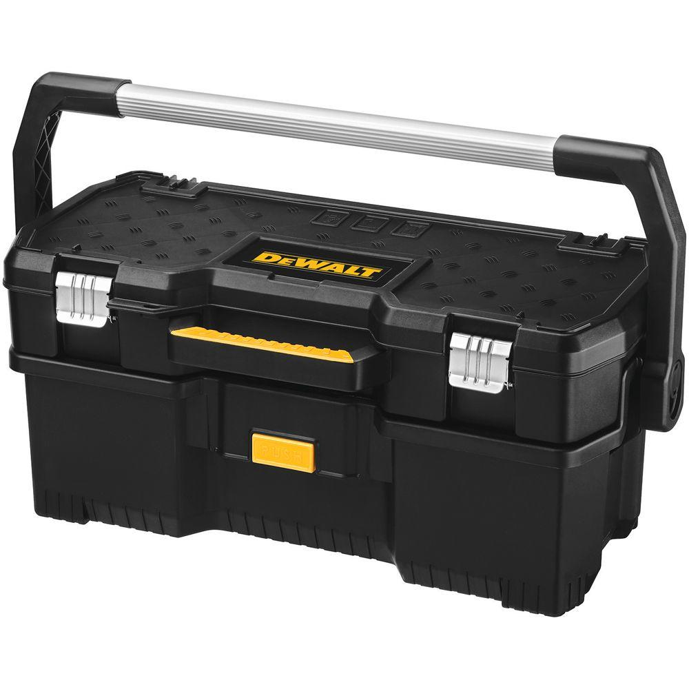 DEWALT 24 In. 2 In 1 Tote With Removable Power Tool Case