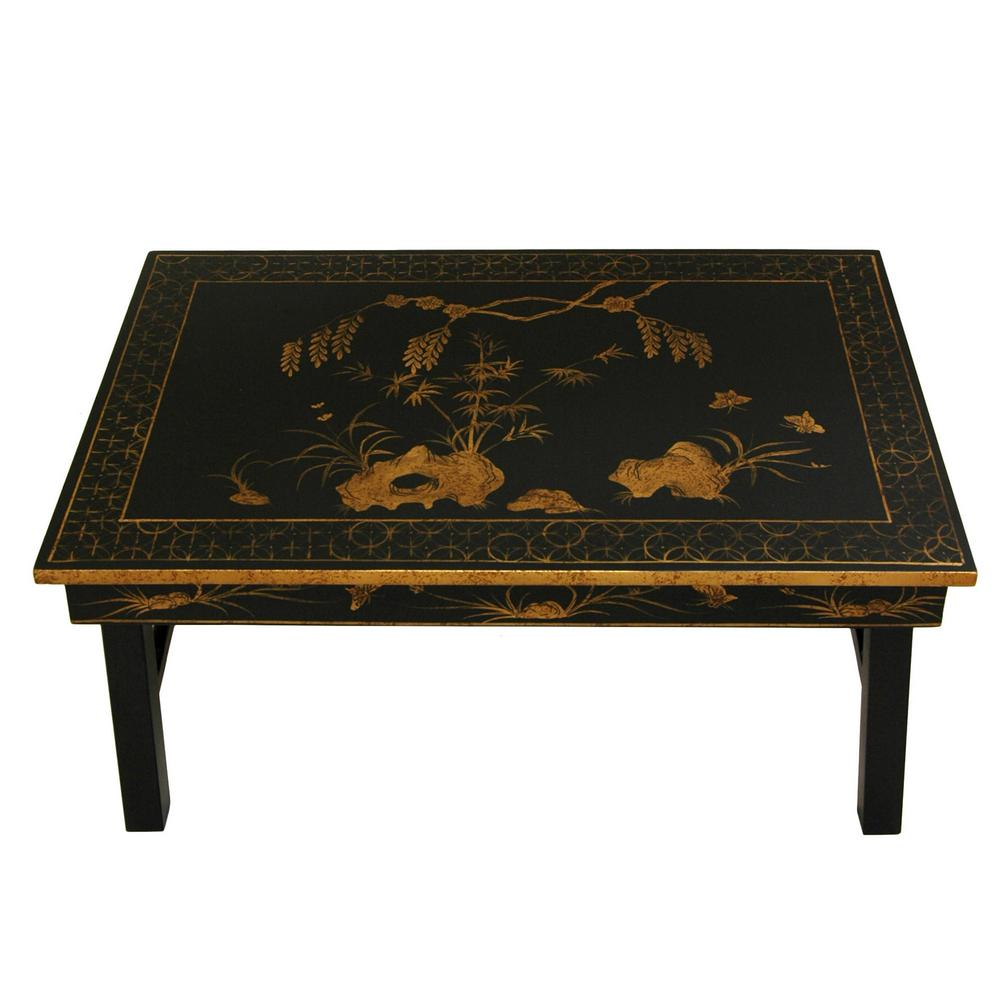 Oriental Furniture Oriental Furniture 23.75 In. X 15 In. Tea Table With  Foldable Legs