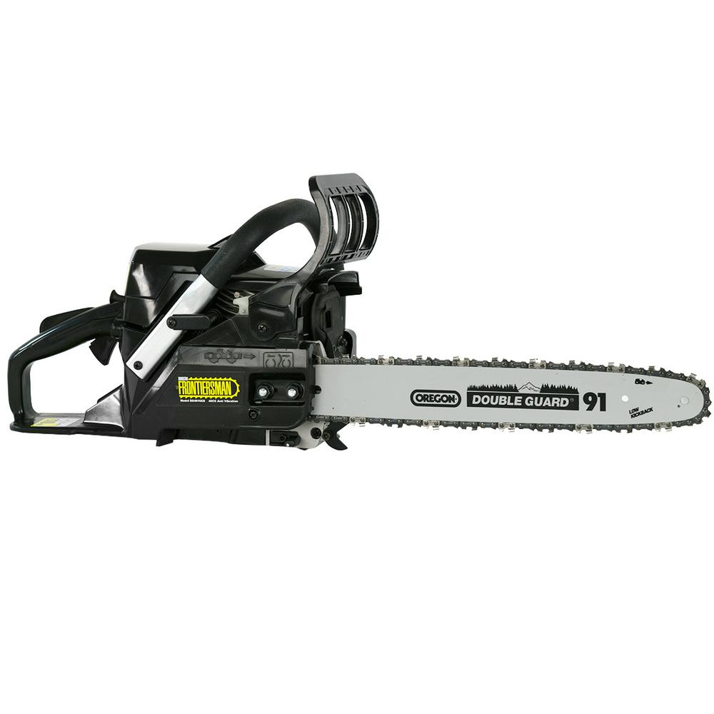DuroStar Frontiersman 40cc 16 in. Gas Chainsaw with Orego...
