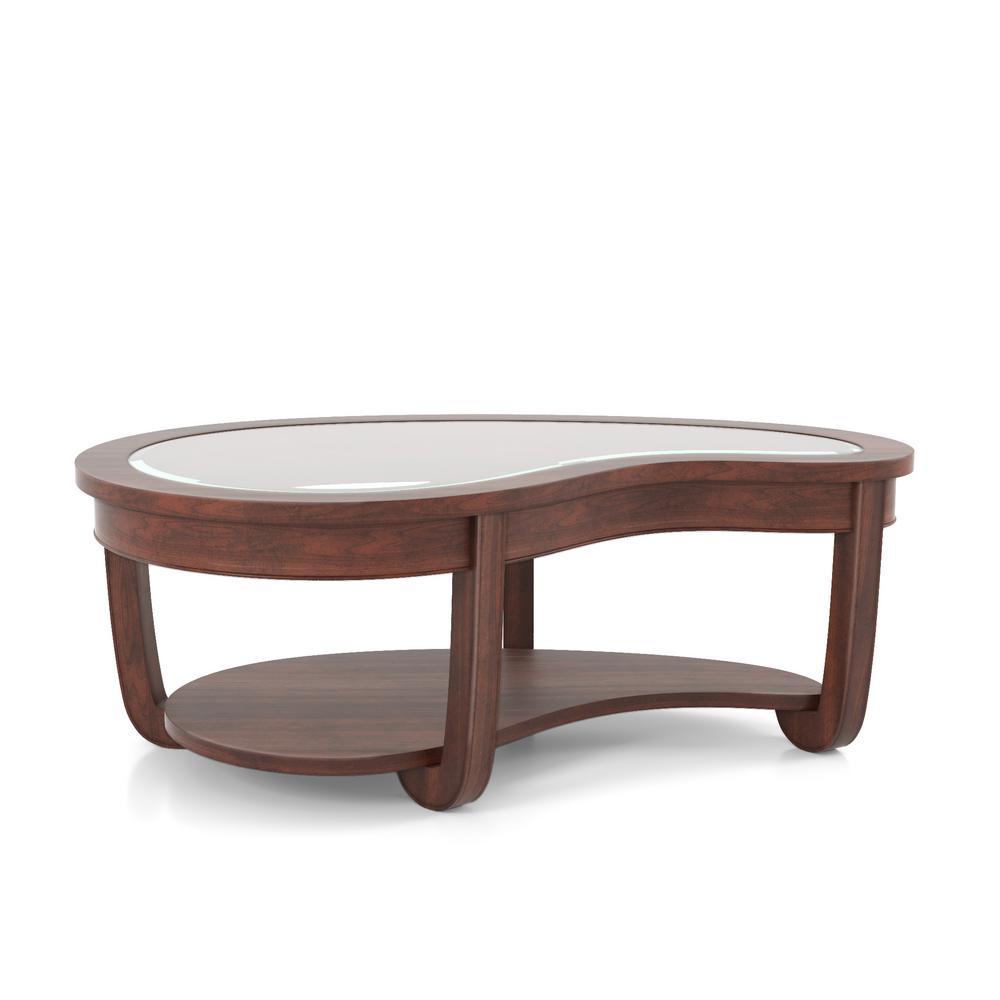 Cherry Coffee Table.Lepita Dark Cherry Coffee Table