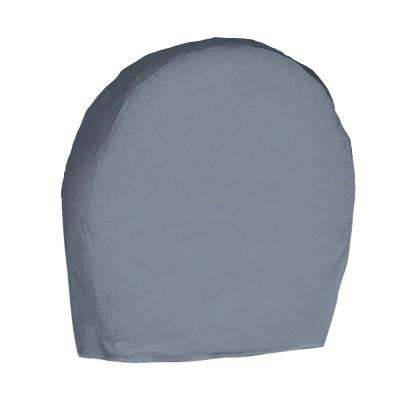 Overdrive Grey 24.5 in. x 8.25 in. x 24 in. RV Wheel Covers