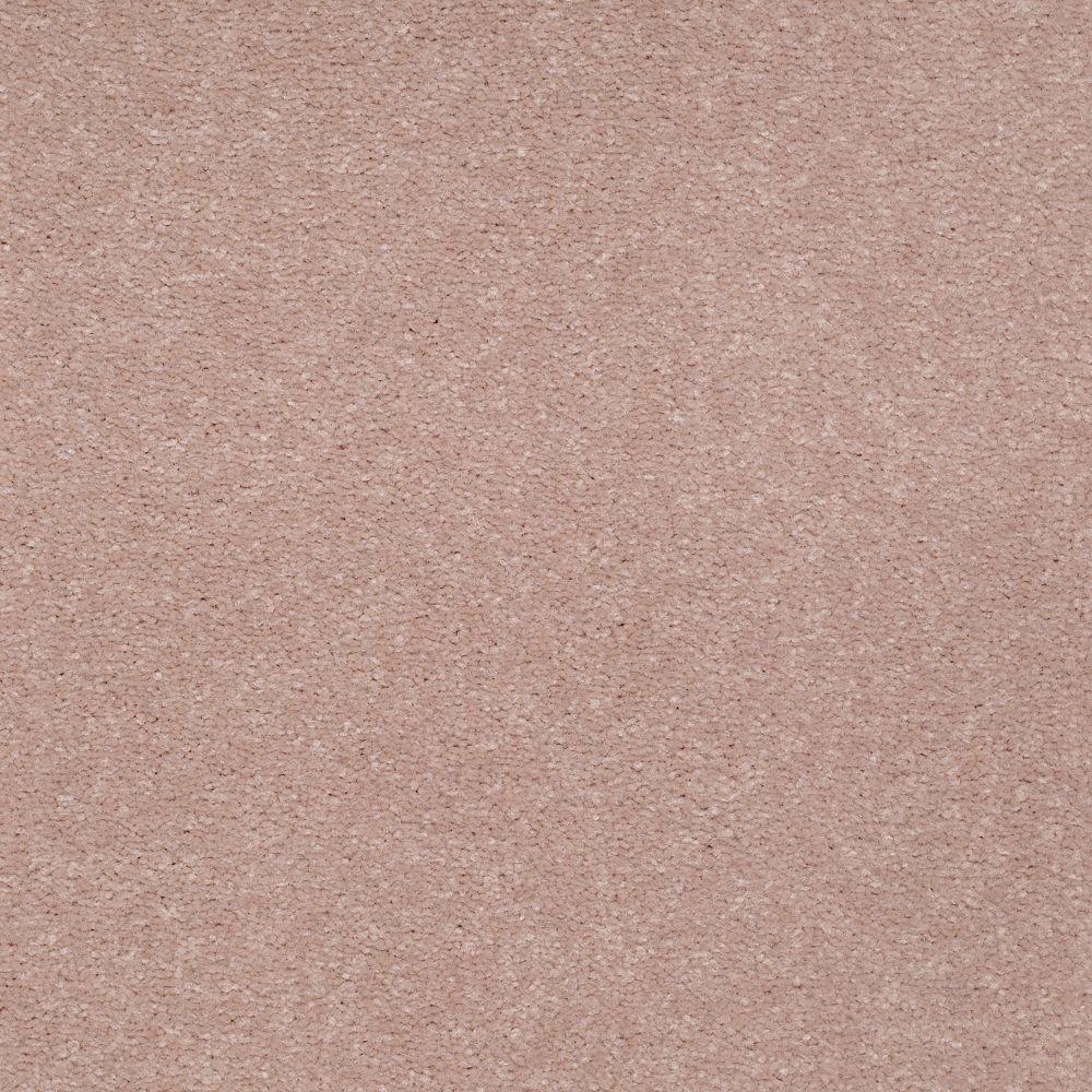 Carpet Sample - Enraptured II - Color Azalea Texture 8 in. x 8 in.