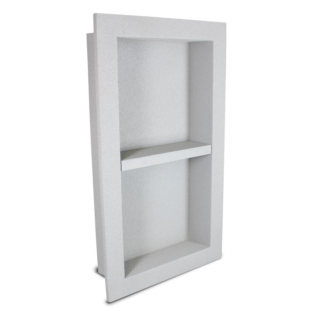12 in. x 16 in. x 3.5 in. Shower Niche with