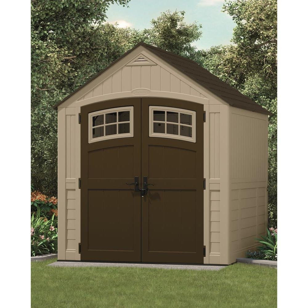 new outdoor storage shed w vent pitched roof reinforced. Black Bedroom Furniture Sets. Home Design Ideas