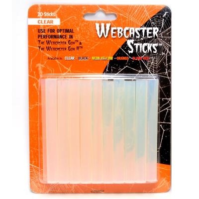 Halloween Clear Webcaster Sticks (Pack of 20)