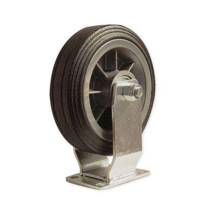 6 in. All-Terrain Solid Rubber Fixed Caster