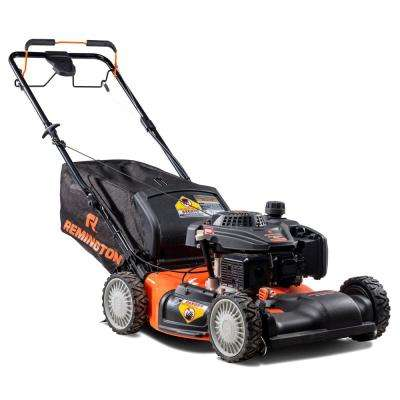 21 in. 159cc All-Wheel-Drive 3-in-1 Gas Walk Behind Self Propelled Lawn Mower