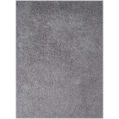Peitrek Silver 7 ft. 6 in. x 9 ft. 6 in. Rectangle Area Rug