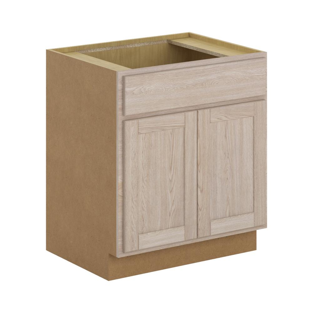 Hampton Bay Stratford Assembled 30x34.5x24 In. Sink Base