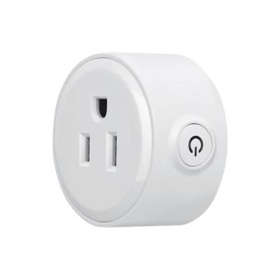 Mini Smart Plug Compatible with Alexa for your Smart Home, no Hub Required, Simple Plug and Play Smart Socket (1-Pack)