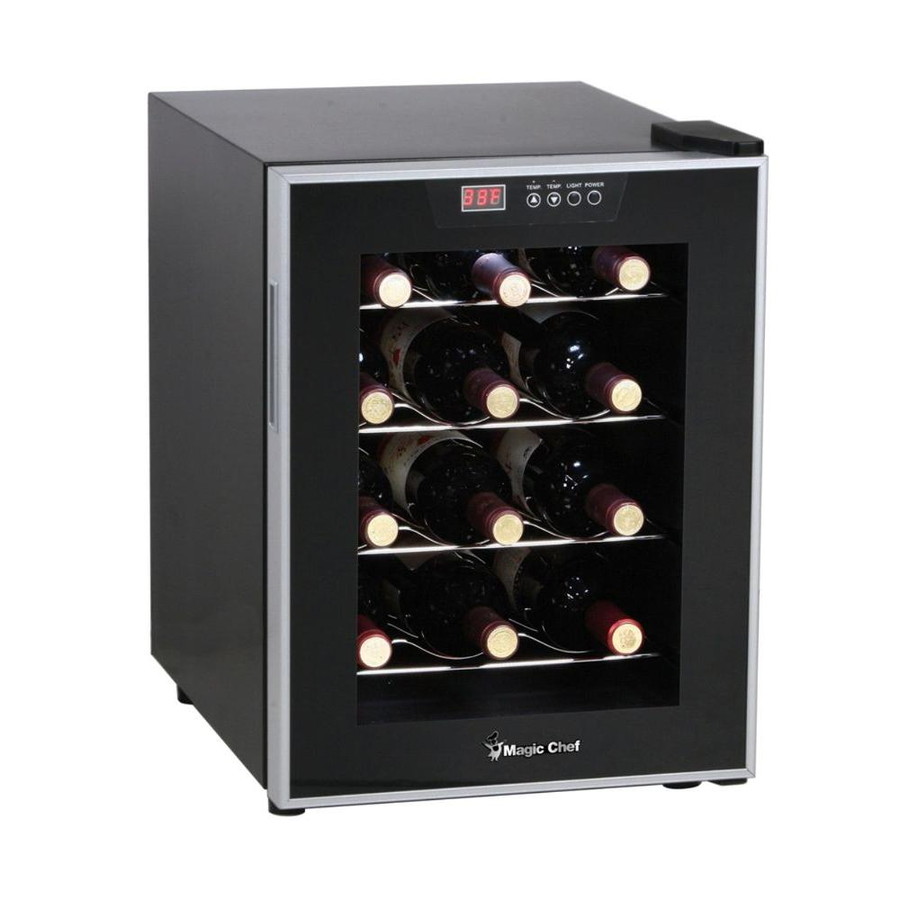 Magic Chef 12-Bottle Wine Cooler-DISCONTINUED