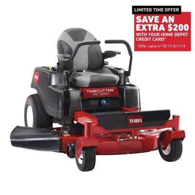 TimeCutter MX4250 42 in. Fab 24.5 HP V-Twin Gas Zero Turn Riding Mower with Smart Speed