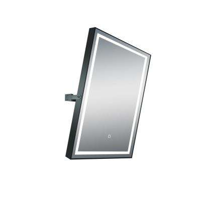 24 in. x 32 in. Rotating LED Mirror