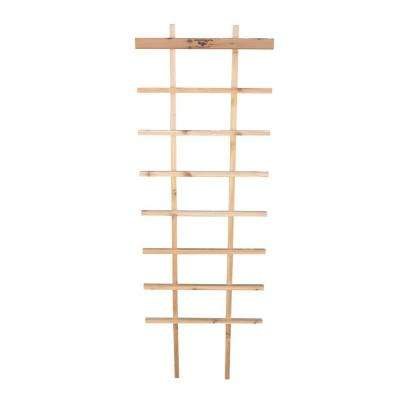 24 in. W x 72 in. H Wood Folding Trellis
