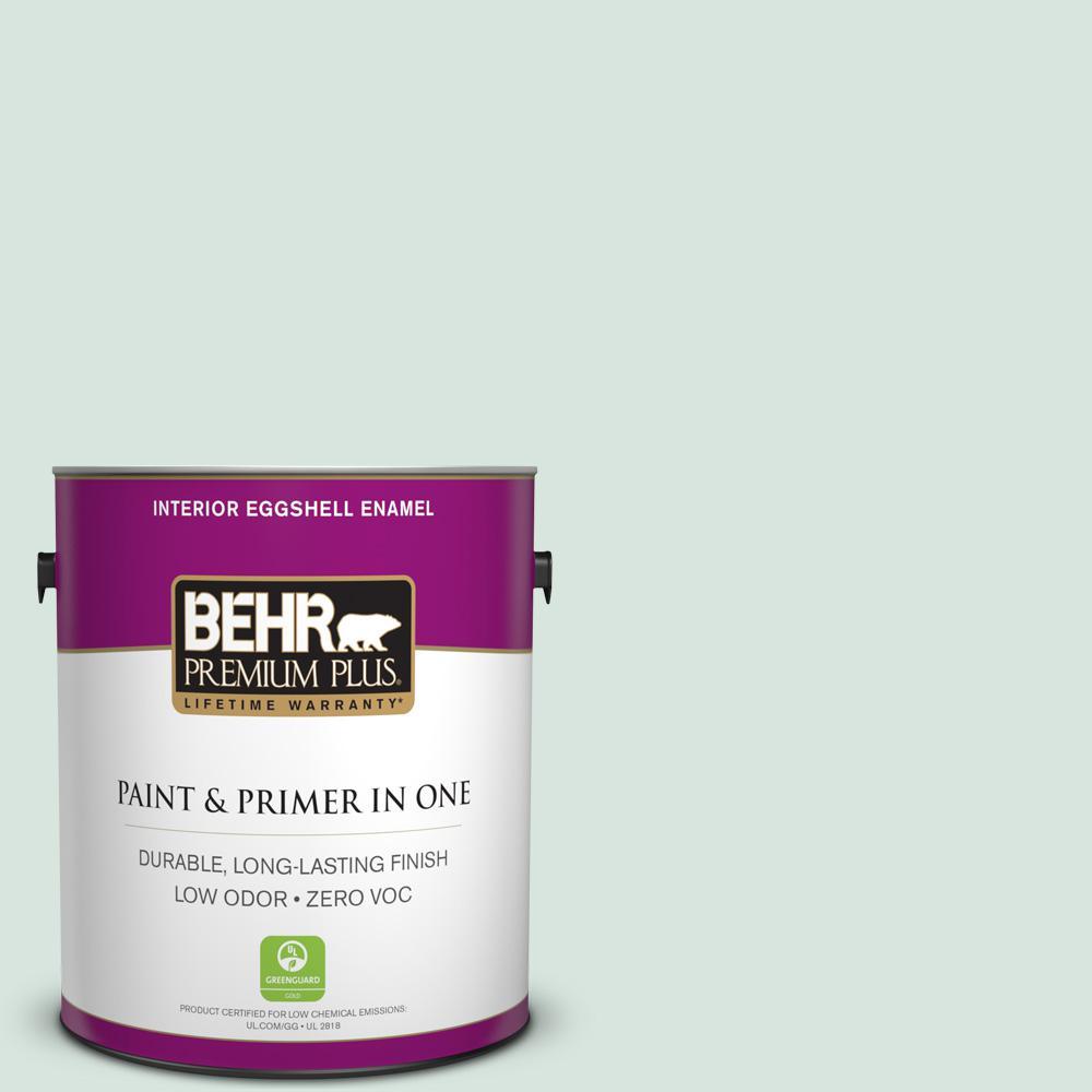 BEHR Premium Plus 1-gal. #S420-1 New Day Eggshell Enamel Interior Paint