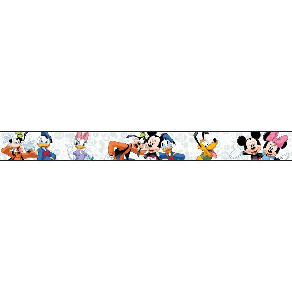 York Wallcoverings Walt Disney Kids Ii Mickey Amp Friends