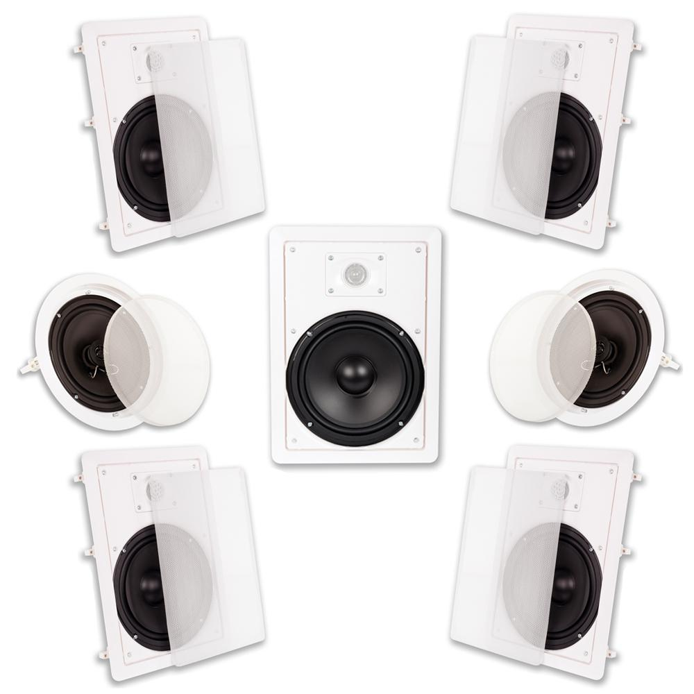 Acoustic Audio By Goldwood In Wall Ceiling 2100 Watt 8 Home Wiring For Speakers Theaters Theater