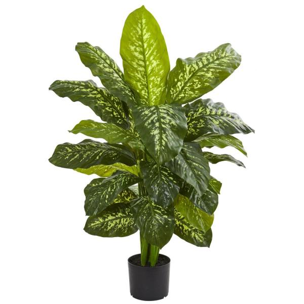 Indoor 42 in. Dieffenbachia Artificial Plant