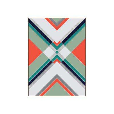 "42.25 in. x 31.25 in. ""Boho I"" by Bobby Berk Printed Framed Wall Art"