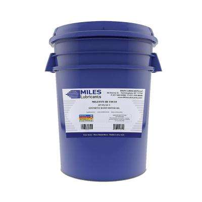 Milesyn SB 5W20 API GF-5/SN 5 Gal. Synthetic Blend Motor Oil Pail