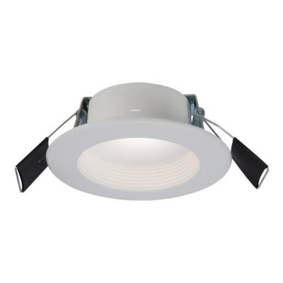 RL 4 in. Color Selectable (2700K-5000K) Remodel Canless Recessed Integrated LED Kit