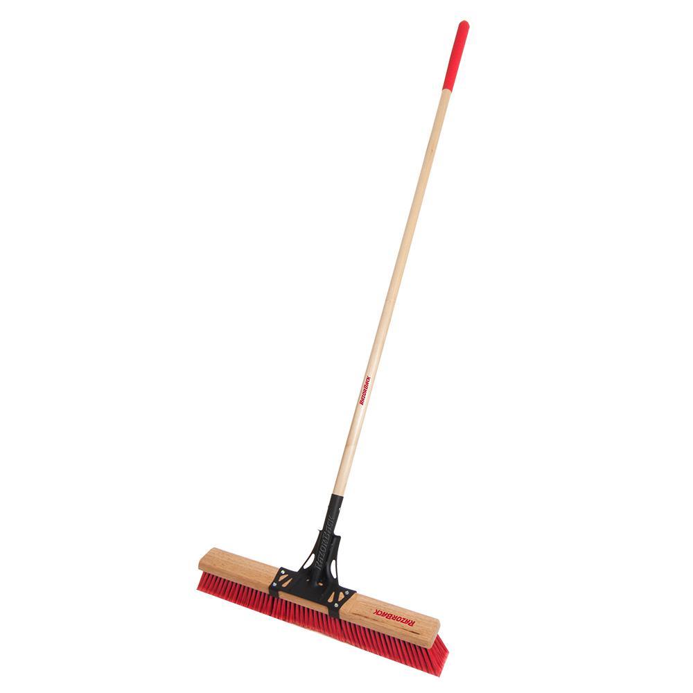 Razor-Back 24 in. Multi-Surface Push Broom