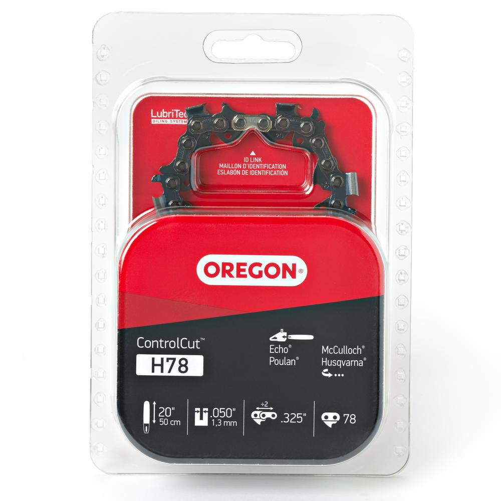 Oregon 20 in chainsaw chain h78 the home depot chainsaw chain keyboard keysfo Image collections
