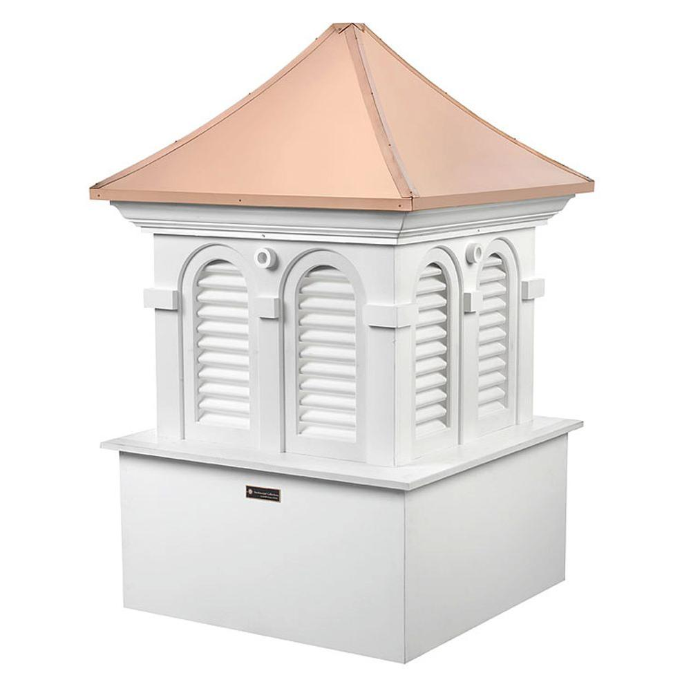 Smithsonian Alexandria 36 in. x 53 in. Vinyl Cupola with Copper