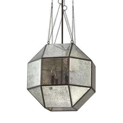 Lazlo 4-Light Heirloom Bronze Pendant with Dimmable Candelabra LED Bulb