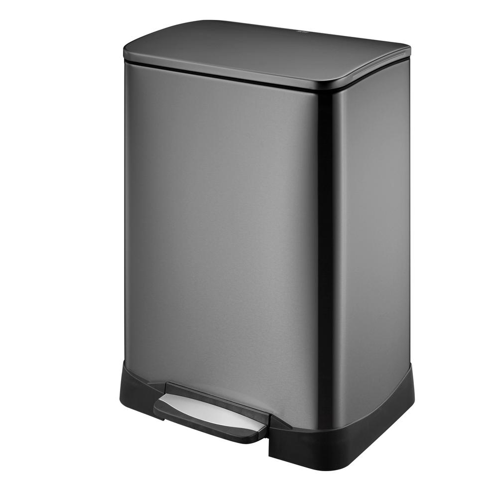 Gal Rectangular Black Stainless Steel