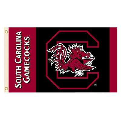 NCAA South Carolina Gamecocks 2-Sided 3 ft. x 5 ft. Flag with Grommets