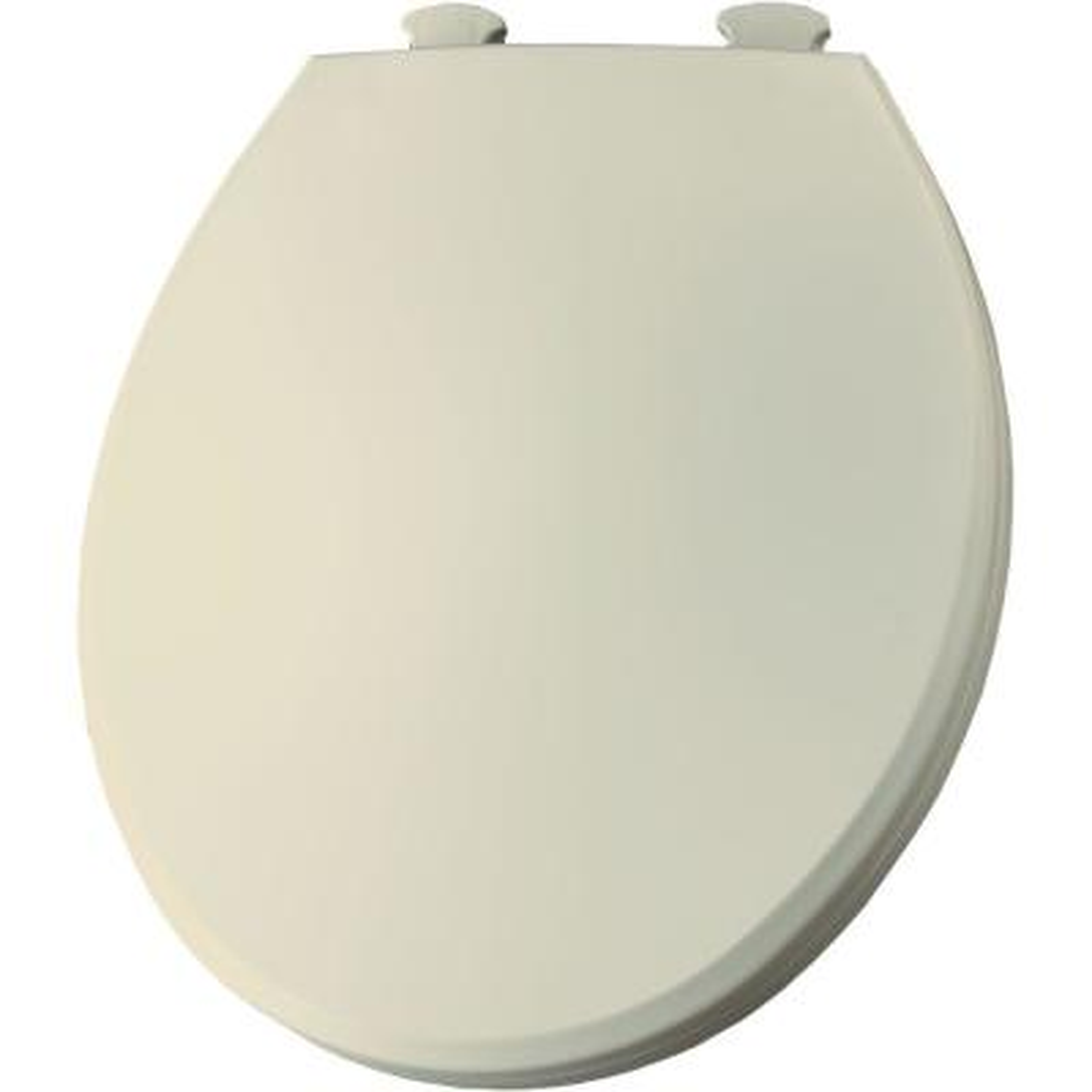 Bemis 200SLOWT 541 Lift-Off Plastic Round Slow-Close Toilet Seat One Size Sunlight