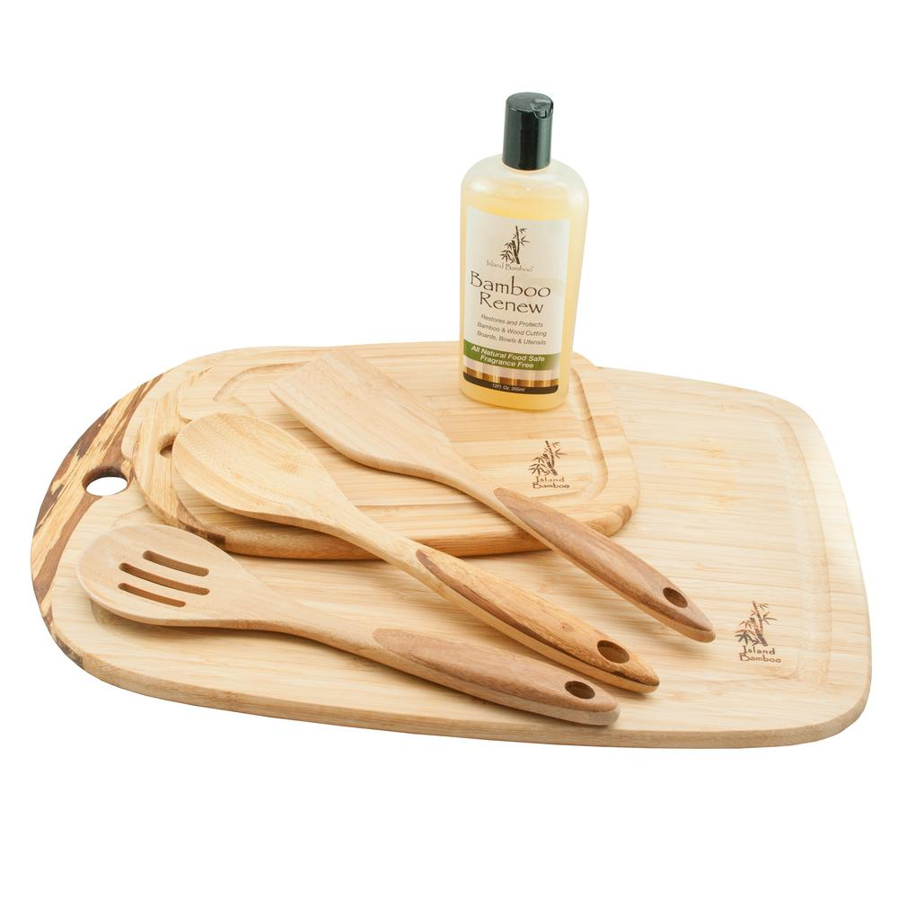 6-Piece Utensil and Cutting Board Set
