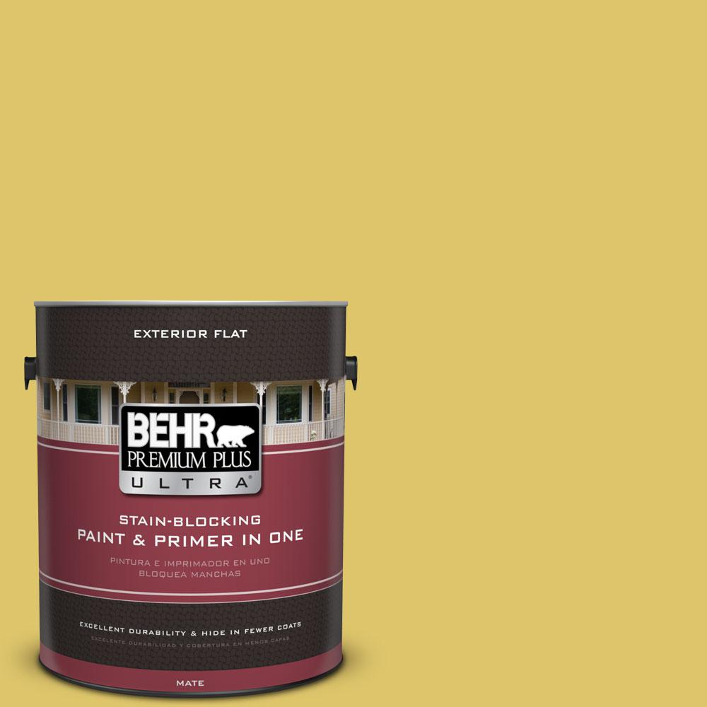 1-gal. #380D-5 California Dreaming Flat Exterior Paint