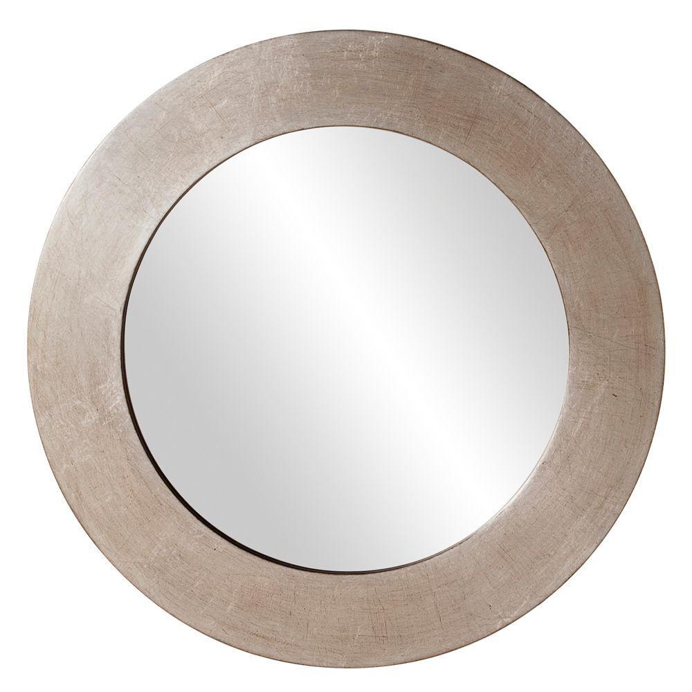 Howard Elliott Collection 20 in. x 20 in. Round Framed Mirror