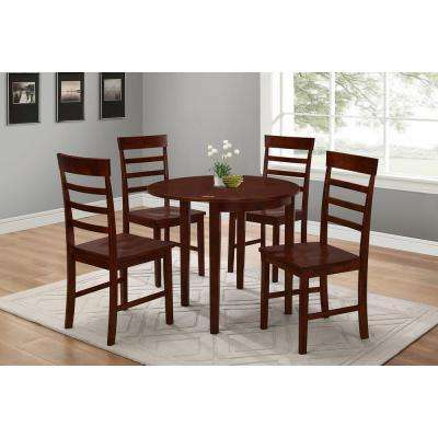 Springfield Antique Oak Wood Dining Chair (Set of 2)