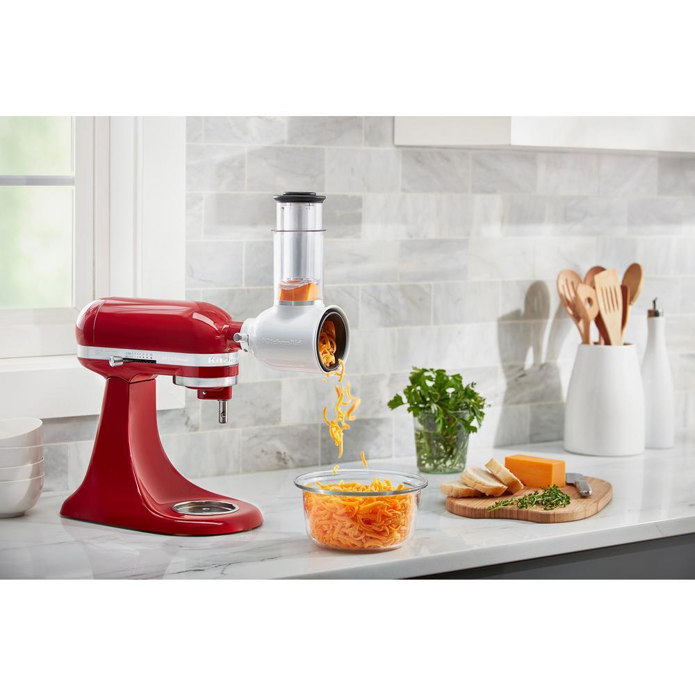 KitchenAid White Fresh Prep Slicer and Shredder Attachment ...